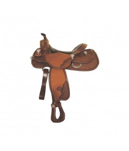 Sella billy cook reining butterfly