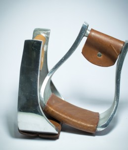 Staffe western alluminio