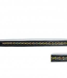 Browband with multicolor strass