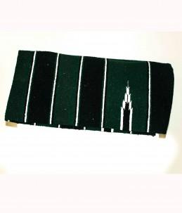 Navajo fabric mat saddle pad