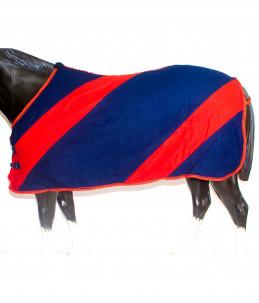 Fleece rug with drawstring...