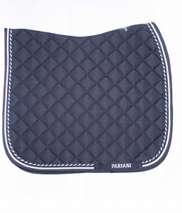 Pariani dressage saddle pad -  Black