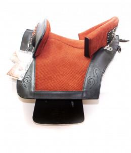 Zaldi saddle Portuguese model