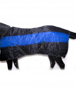 Box rug black/Blue