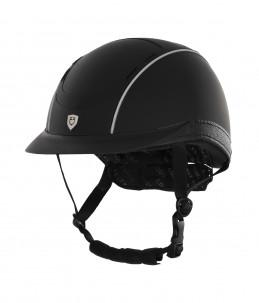 Casco Equestro Phantom Model Helmet Nero