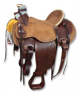 Sella Western Silver Horse Dallas
