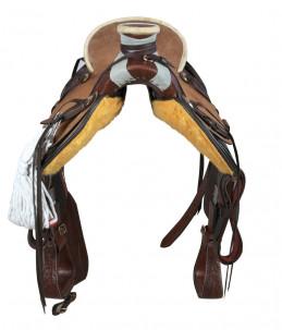 Particolare di Sella Western Silver Horse Dallas