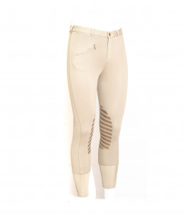 Riding trousers with grip - Beige