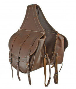 Calfskin Saddlebags